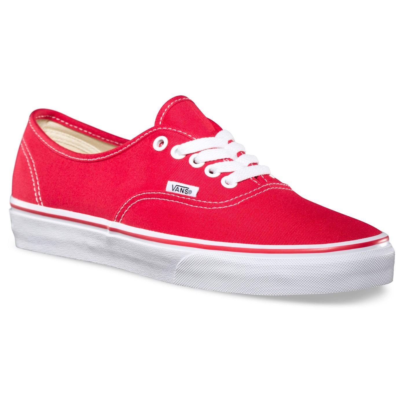Tenisky Vans Authentic red