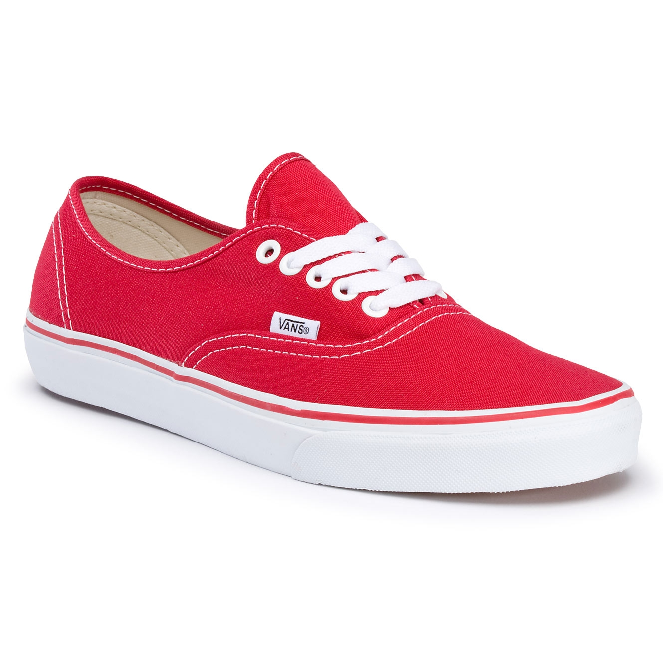 Vans authentic red tubede - d7308