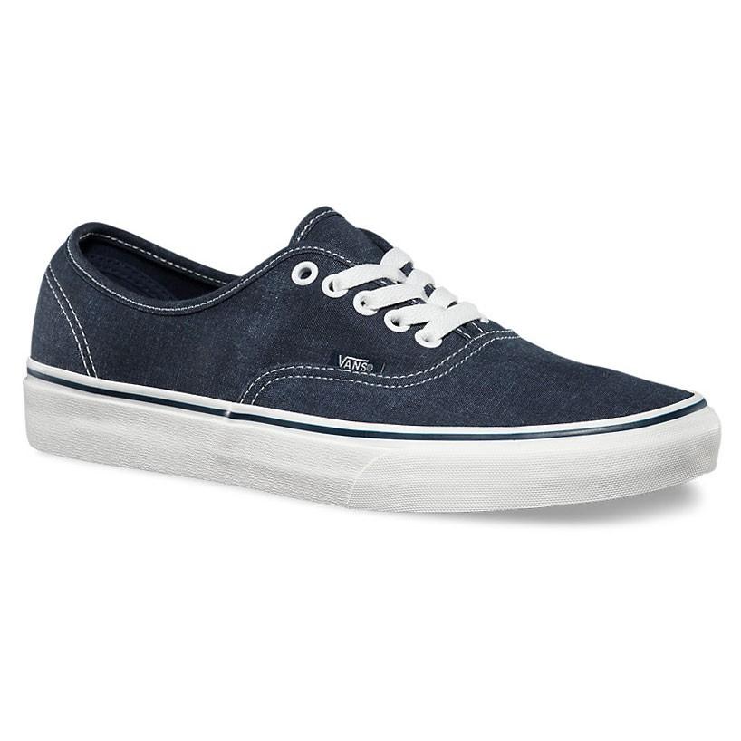 Vans Authentic washed dark blue