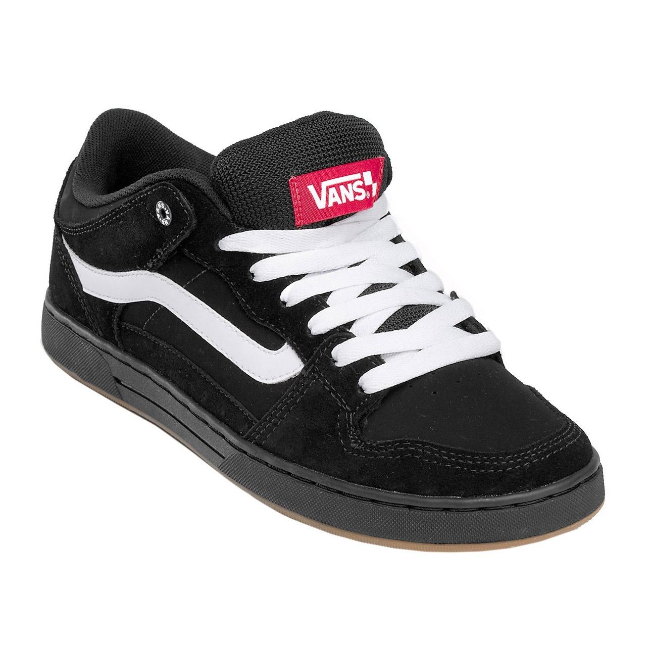 Vans Baxter Black White Gum Snowboard Zezula