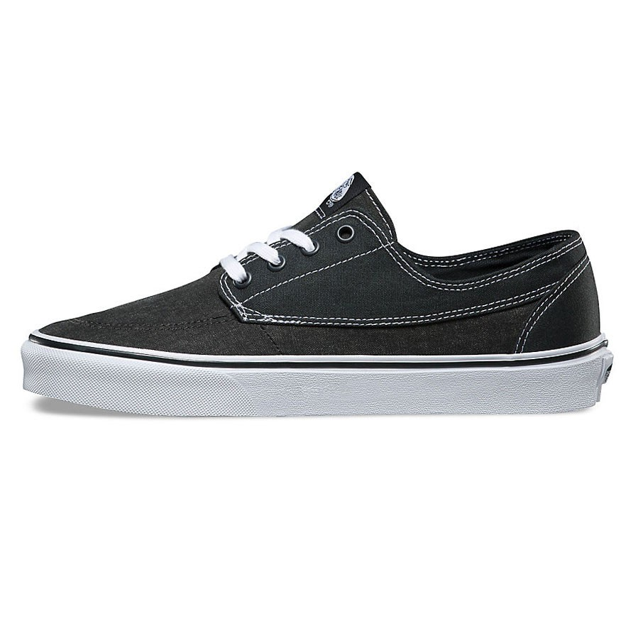 Vans Brigata (Washed Canvas) Pirate Black | Footshop