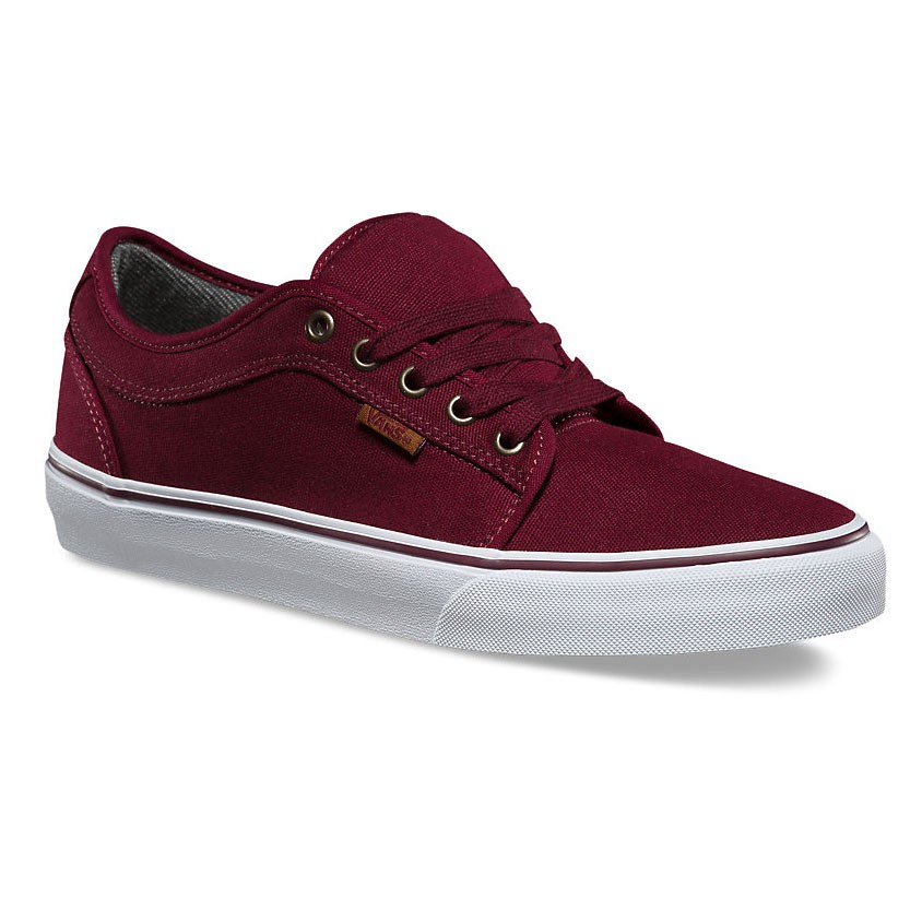 Tenisky Vans Chukka Low 10 oz. canvas port/white