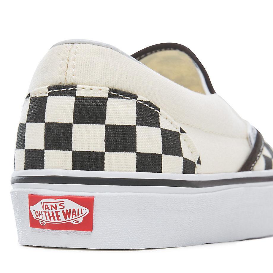 Tenisky Vans Classic Slip-On checkerboard black off white ... d4293d1ccb4