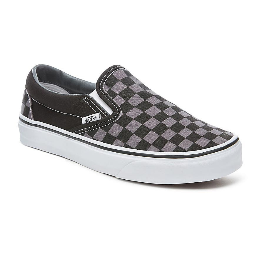 shoes Vans Classic Slip On Black & White Checkerboard
