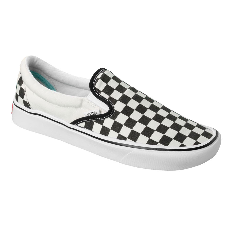 a29d6eecef7a2 Tenisky Vans Comfycush Slip-On classic checkerboard/true white ...
