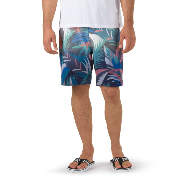 "Boardshortky Vans Dip Dye Boardshorts 19"" canton stanton floral"