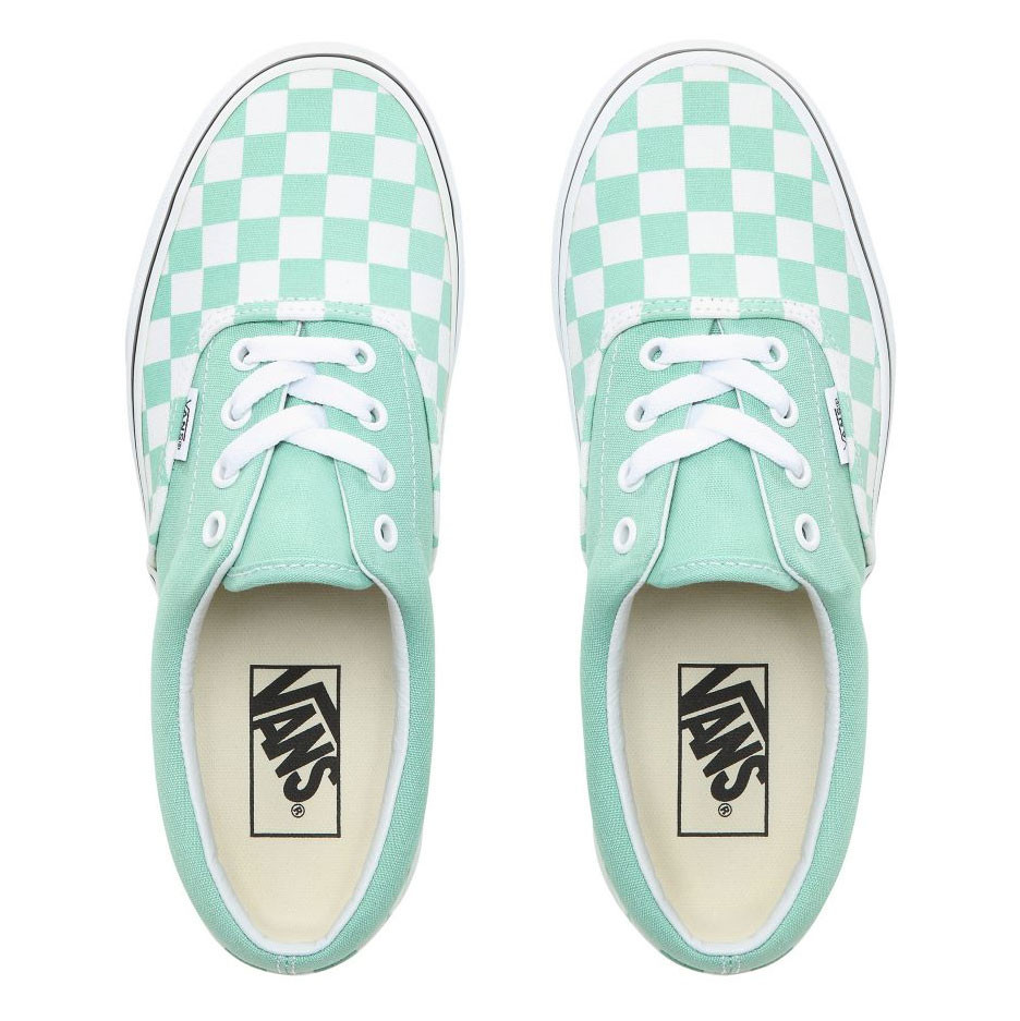 Tenisky Vans Era checkerboard neptune green white  584c6dbfa