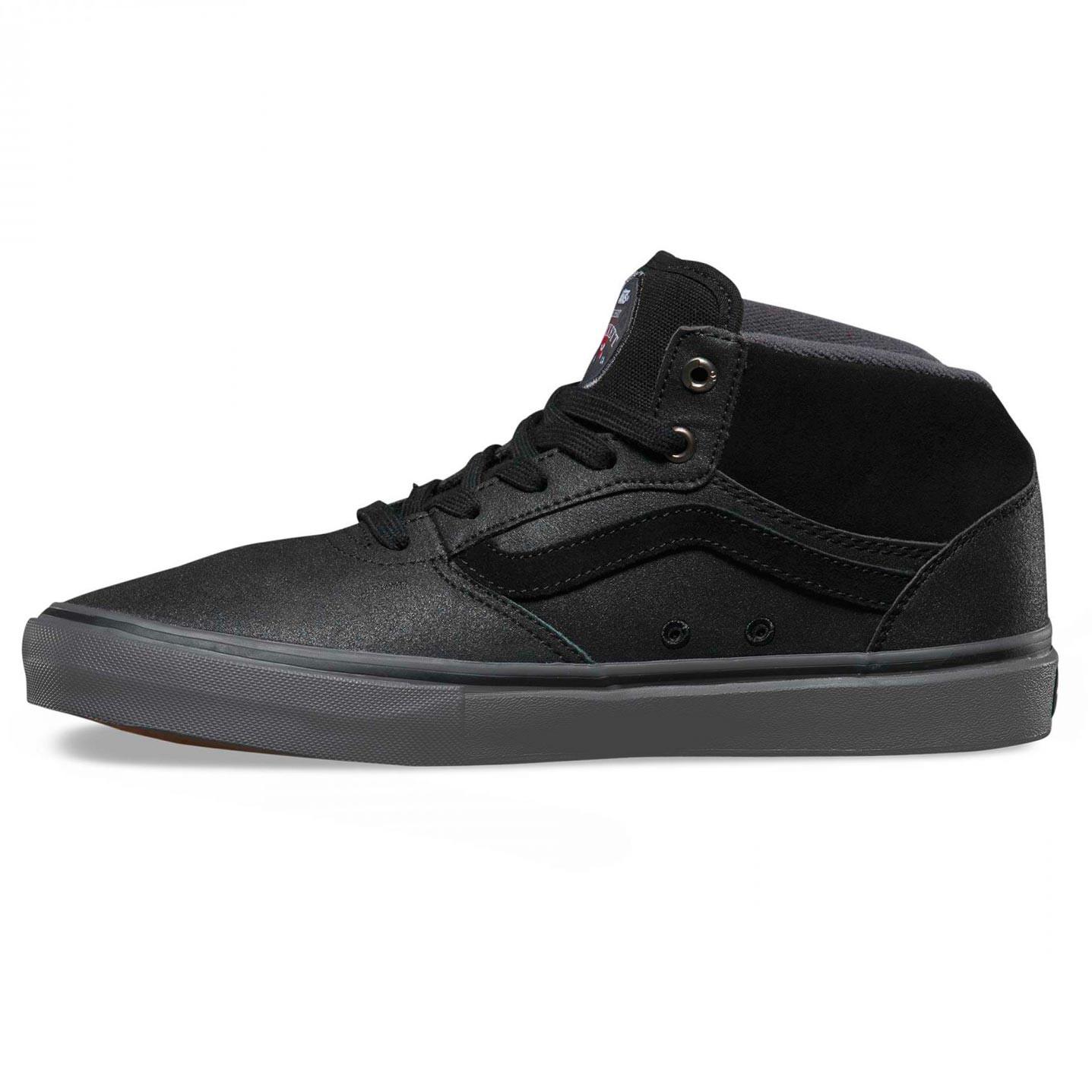 4a231cb46a Vans Gilbert Crockett Pro Mid xtuff black grey