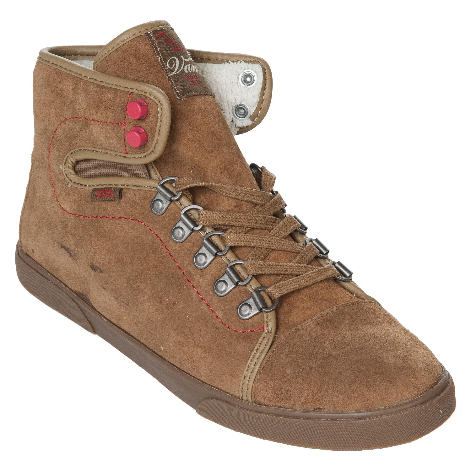 85d7df143253ca Vans Hadley Hiker hiker brown white