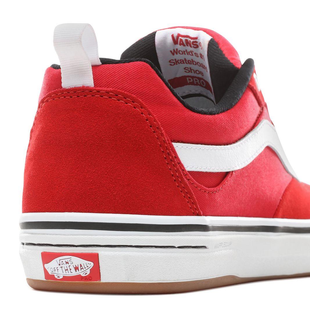 Sneakers Vans Kyle Walker Pro red/white