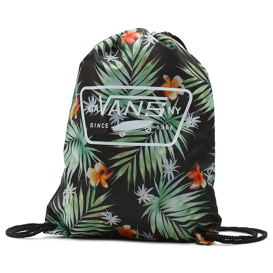 Batoh Vans League Bench black decay palm