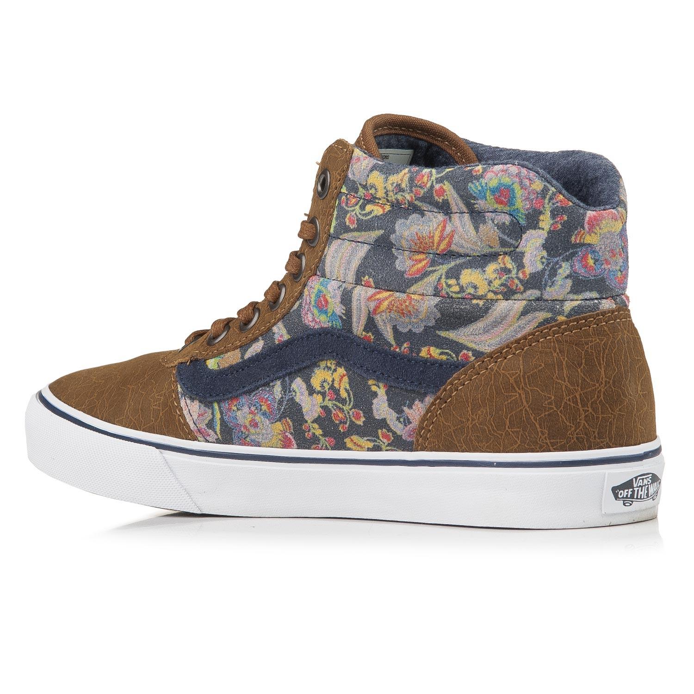 da0ab813208a4 Vans Milton Hi mte flower suede/brown | Snowboard Zezula