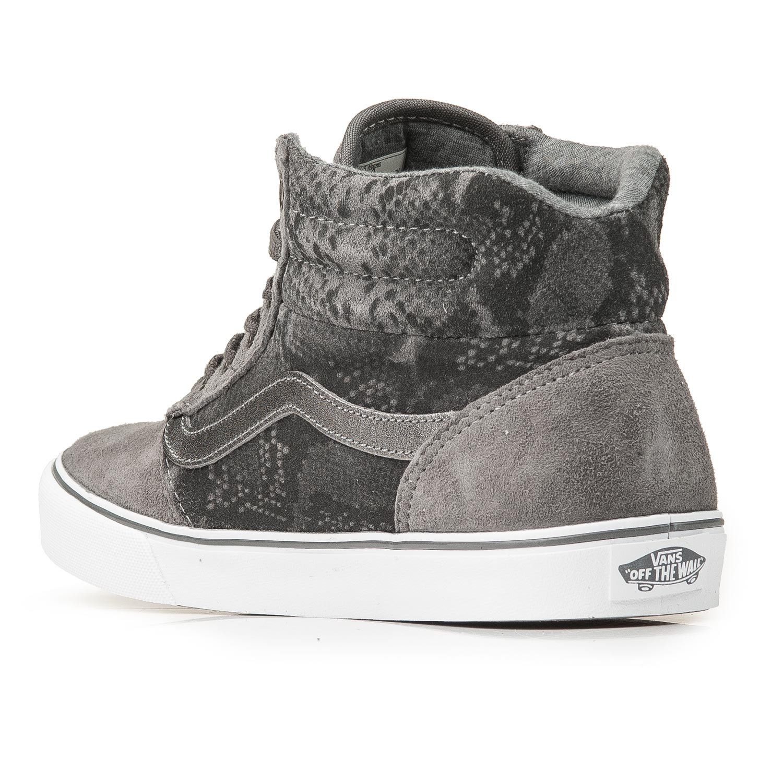 b0d7bd1a06ab Sneakers Vans Milton Hi mte snake grey tan
