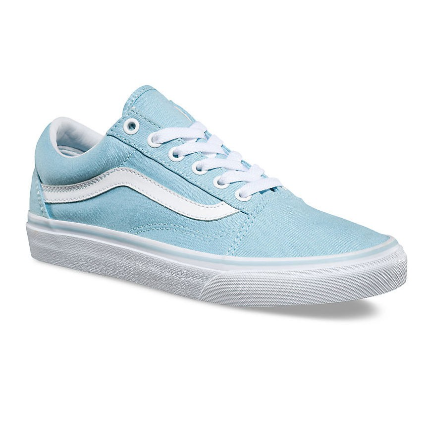 sneakers vans old skool crystal blue true white. Black Bedroom Furniture Sets. Home Design Ideas