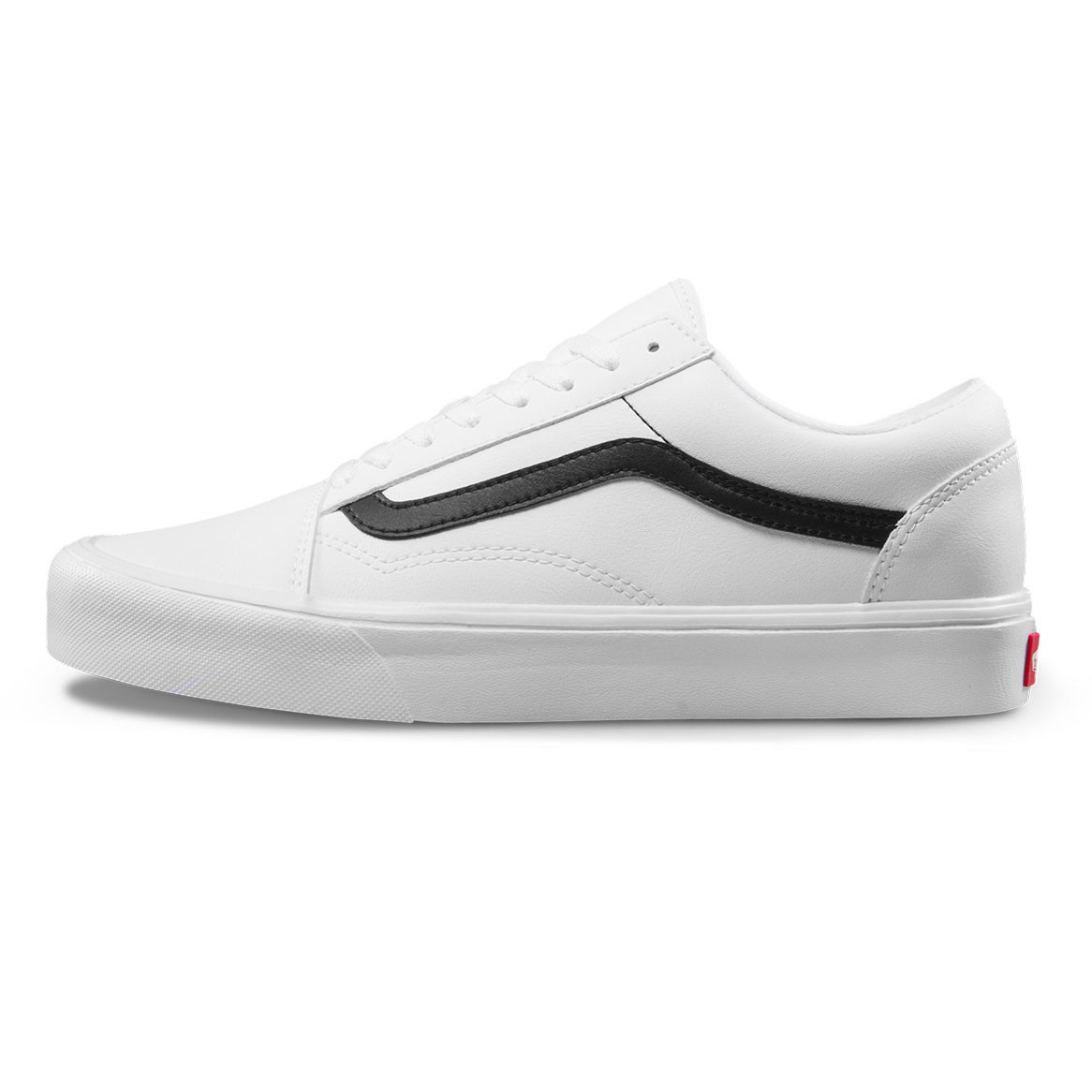 d8d992a5c62 Tenisky Vans Old Skool Lite classic tumble true white black ...
