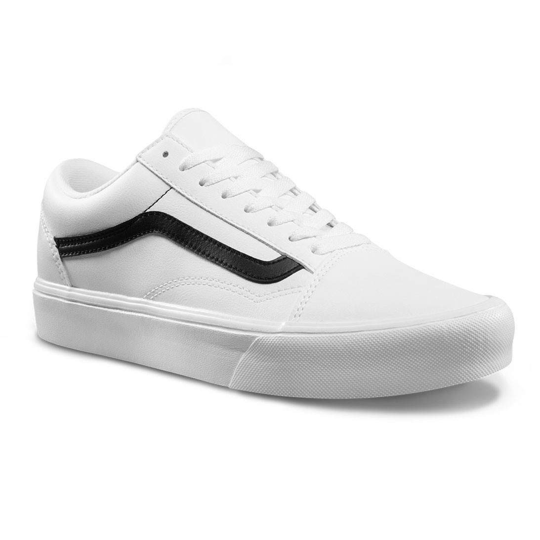 Tenisky Vans Old Skool Lite classic tumble true white black ... 959b14c0cff