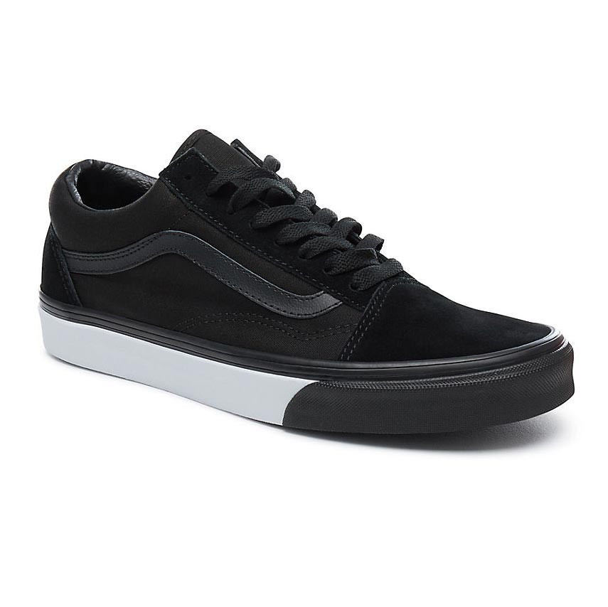 sneakers vans old skool mono bumper black true white. Black Bedroom Furniture Sets. Home Design Ideas