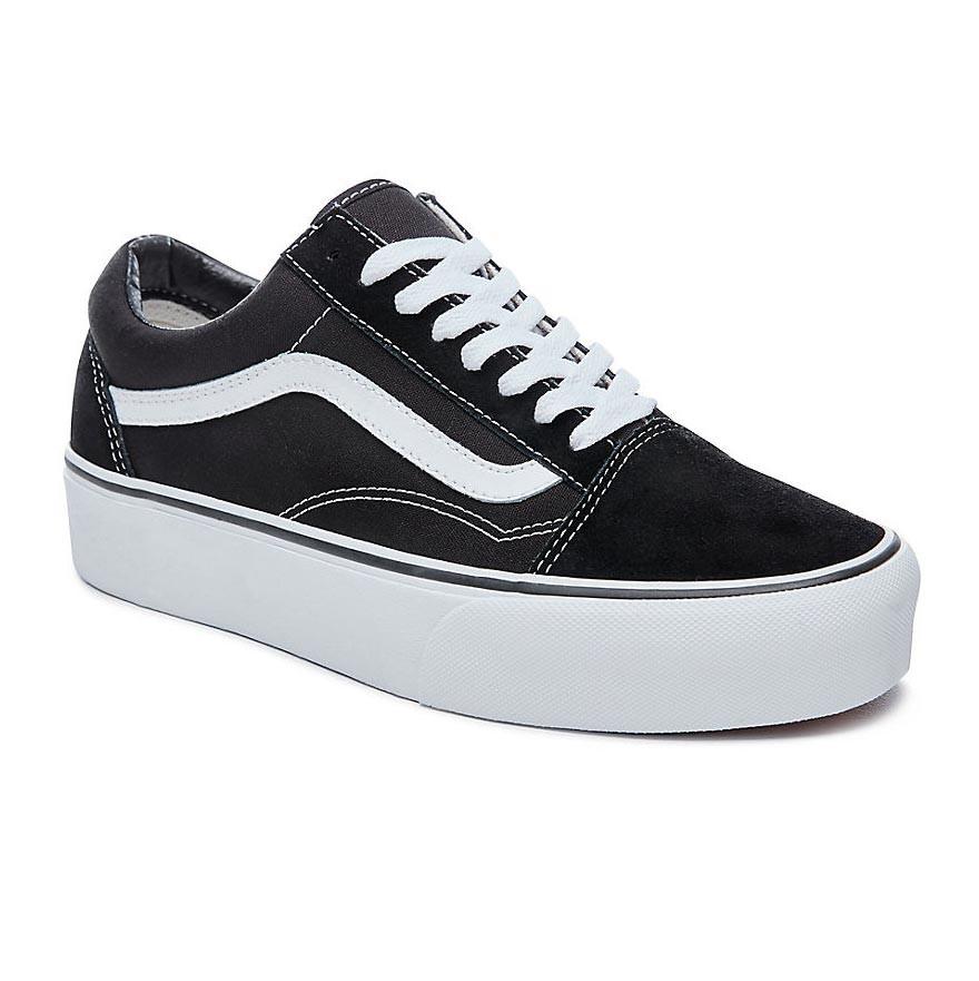 Sneakers Vans Old Skool Platform black white  dd2d60219e5