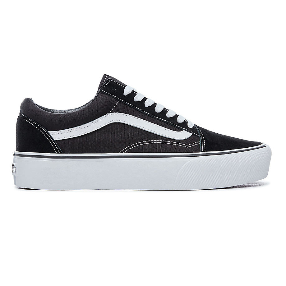 tenisky vans old skool platform black white snowboard zezula. Black Bedroom Furniture Sets. Home Design Ideas
