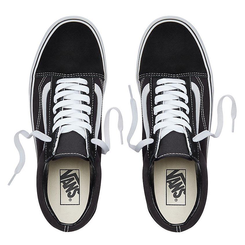 Tenisky Vans Old Skool Platform black white  ec41f6e6bee