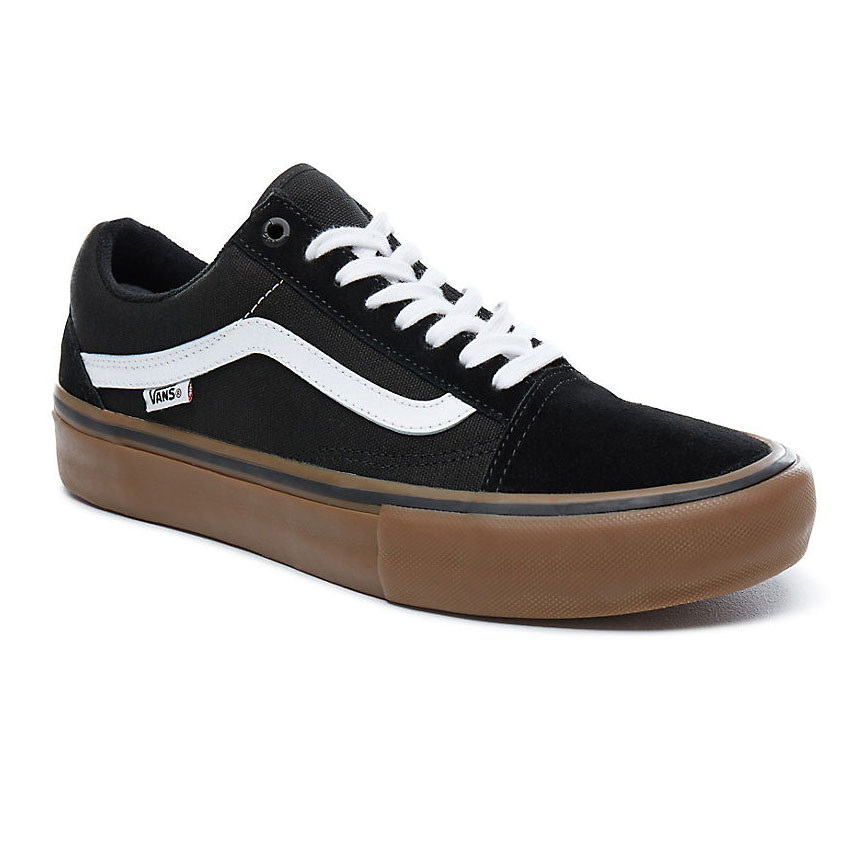 black vans old skool pro