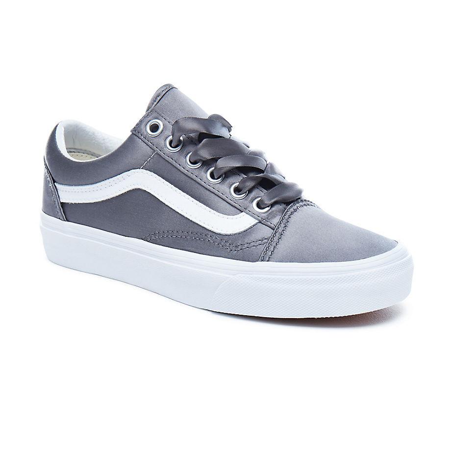 Tenisky Vans Old Skool satin lux grey true white  57016710a5