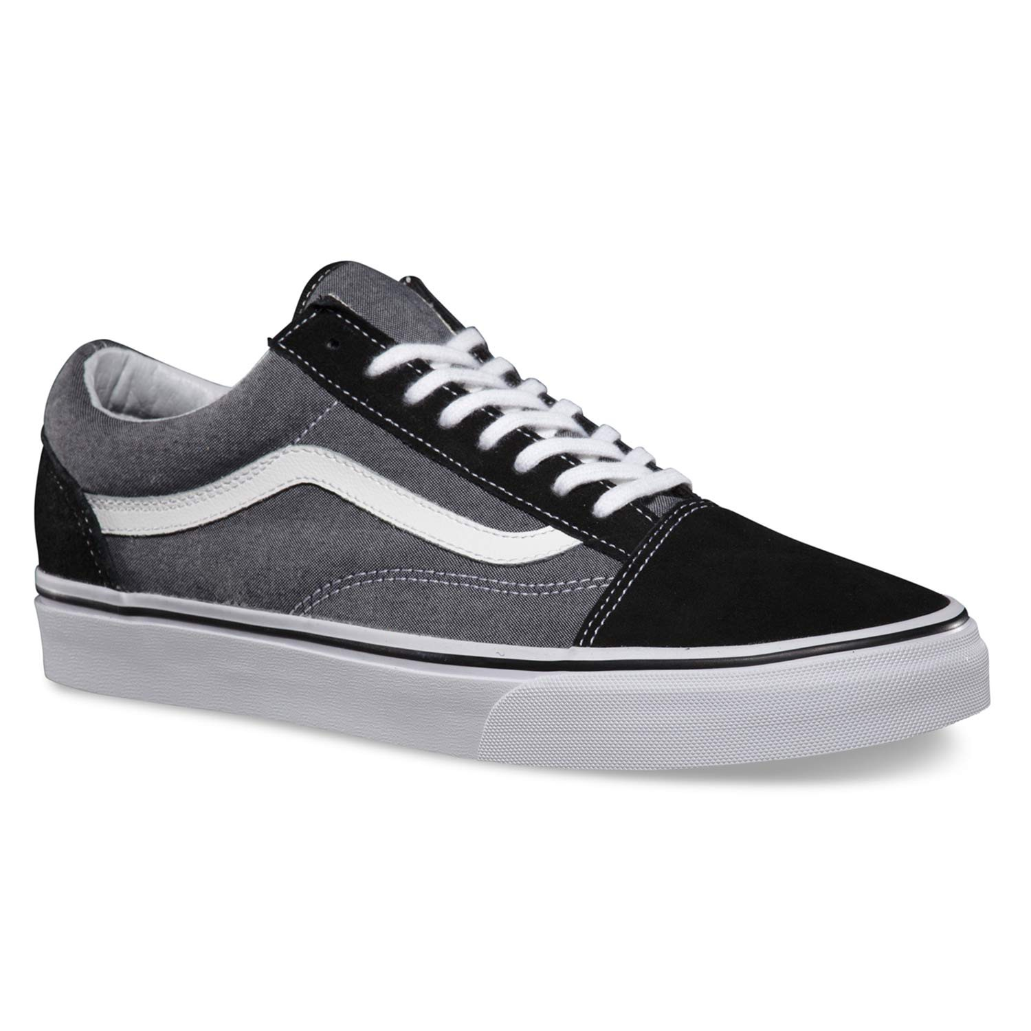 vans old skool suede chambray black snowboard zezula. Black Bedroom Furniture Sets. Home Design Ideas