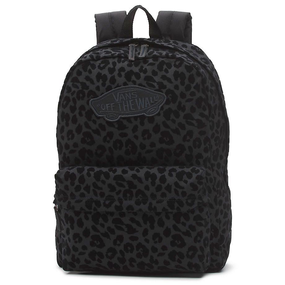 Batoh Vans Realm black leopard