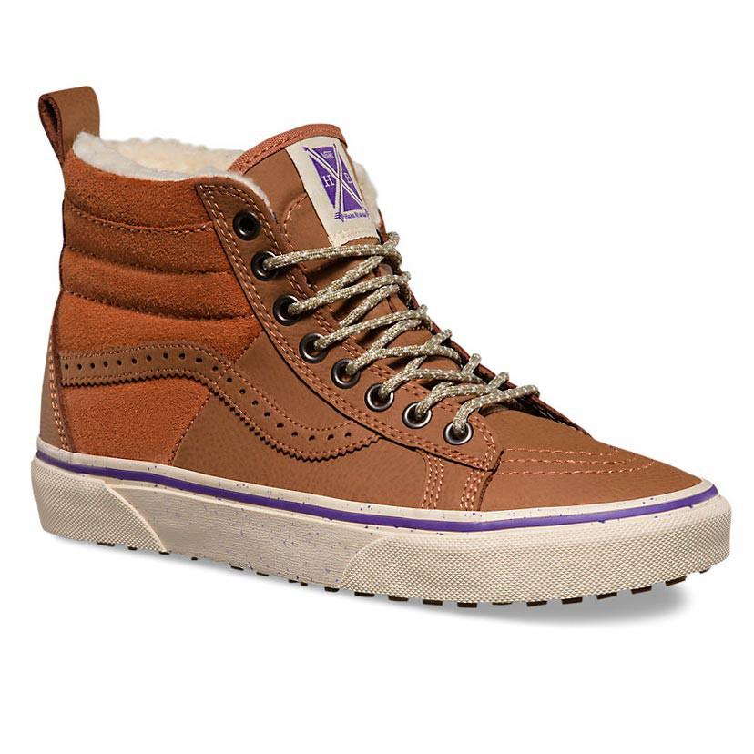 Zimní boty Vans Sk8-Hi 46 Mte hana beaman brown/angora