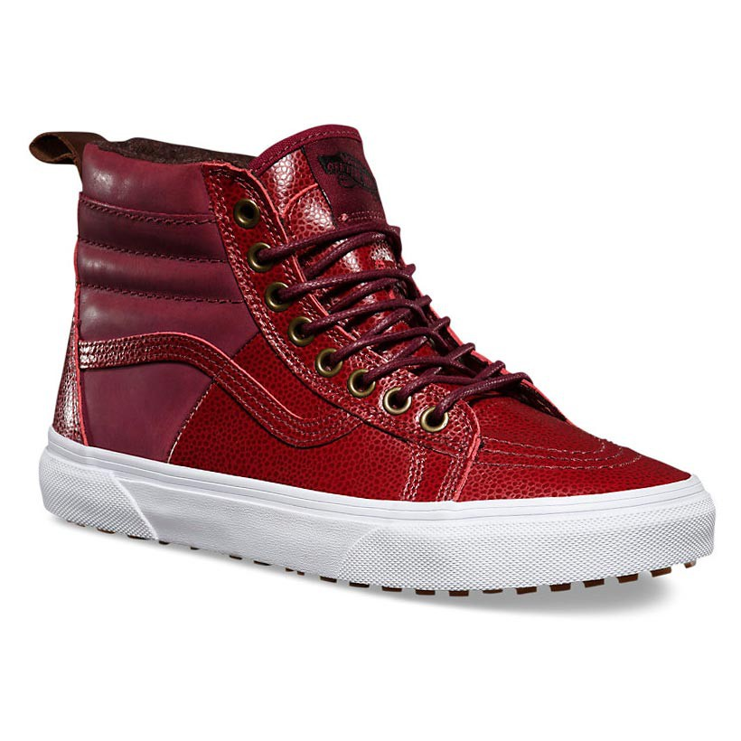 Zimní boty Vans Sk8-Hi 46 Mte pebble leather port royale