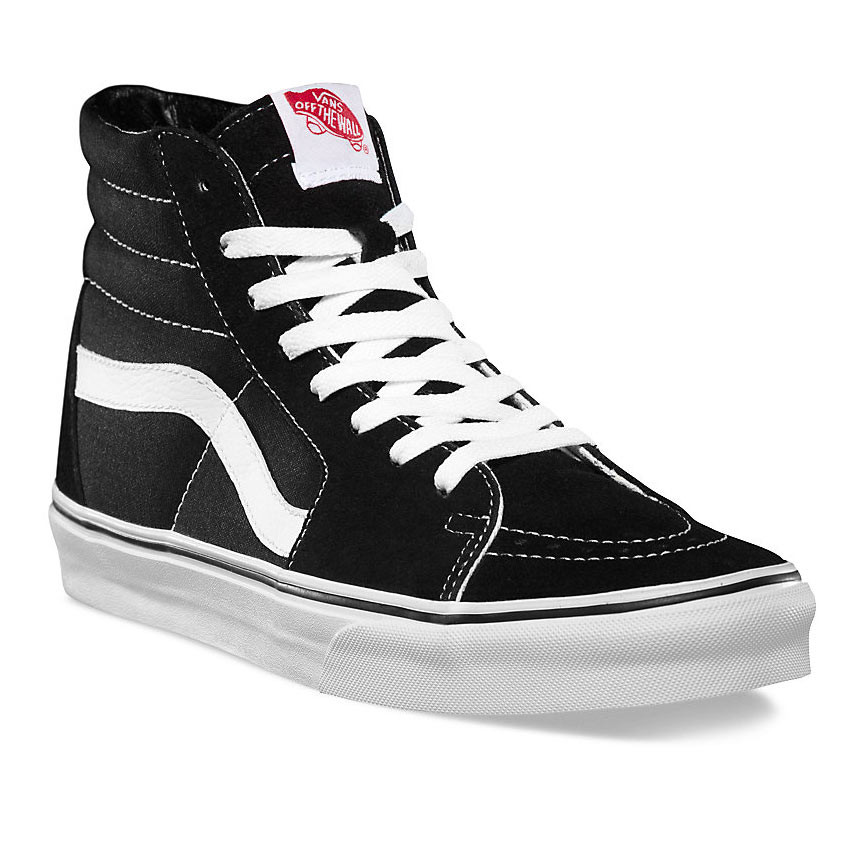Tenisky Vans Sk8-Hi black black white  4815ced9c9c