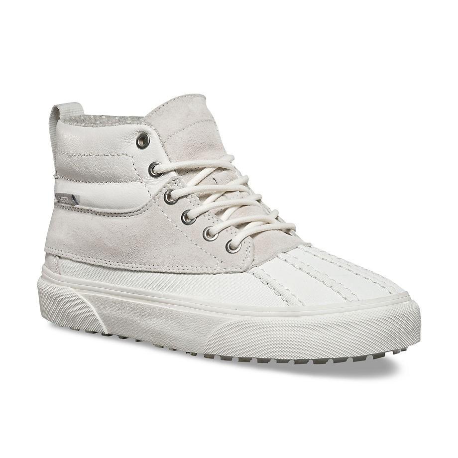 f8da3132eb4 Vans Sk8-Hi Del Pato Mte blanc de blanc polka dots
