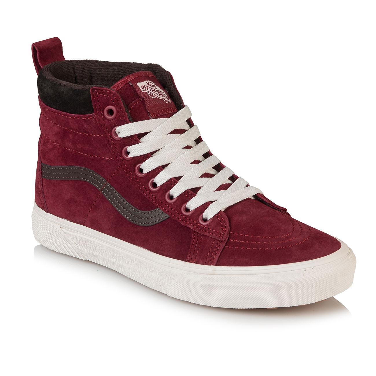 Winter shoes Vans Sk8-Hi MTE biking red