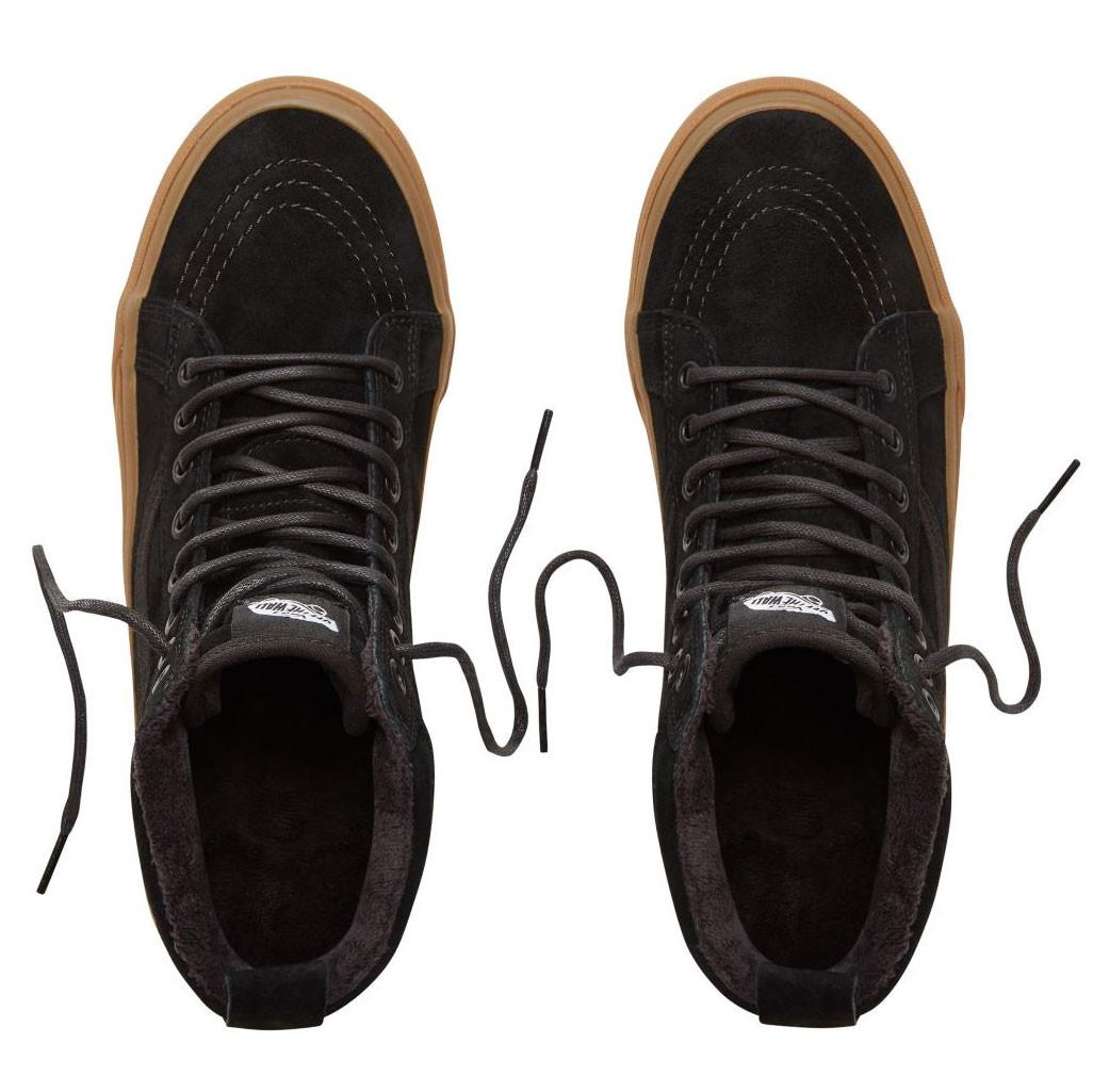0e1d7360fc8e9 Skate topánky Vans Sk8-Hi Mte black/gum | Snowboard Zezula