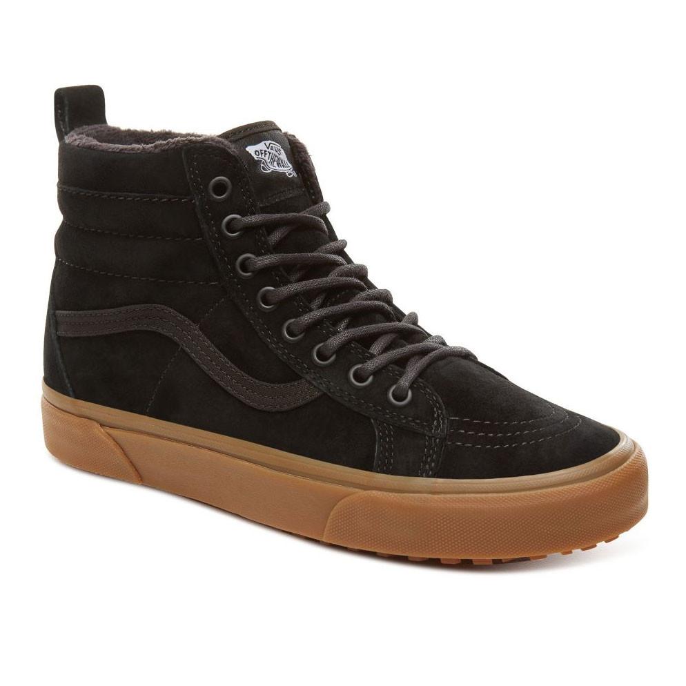 Skate shoes Vans Sk8-Hi Mte black/gum
