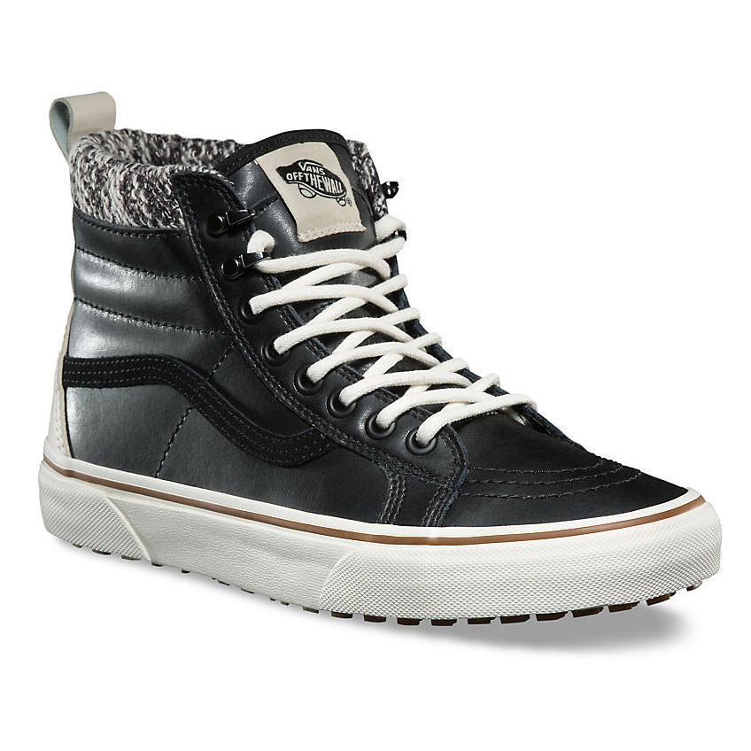 VANS - SK8-Hi MTE Black/Marshmallow - Sneakers - Größe: 6 US ffe8Vhl5