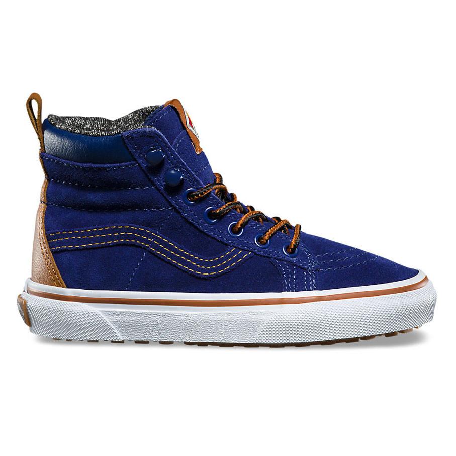 Skate boty Vans Sk8-Hi Mte blue depths  d0ff73e14b3