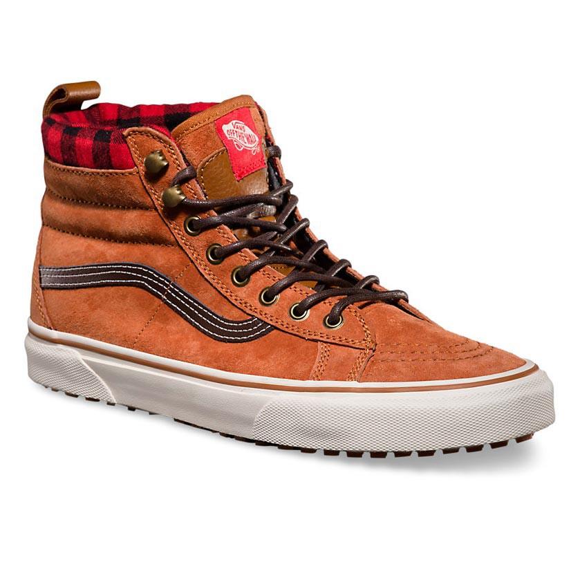 Zimní boty Vans Sk8-Hi Mte glazed ginger/plaid