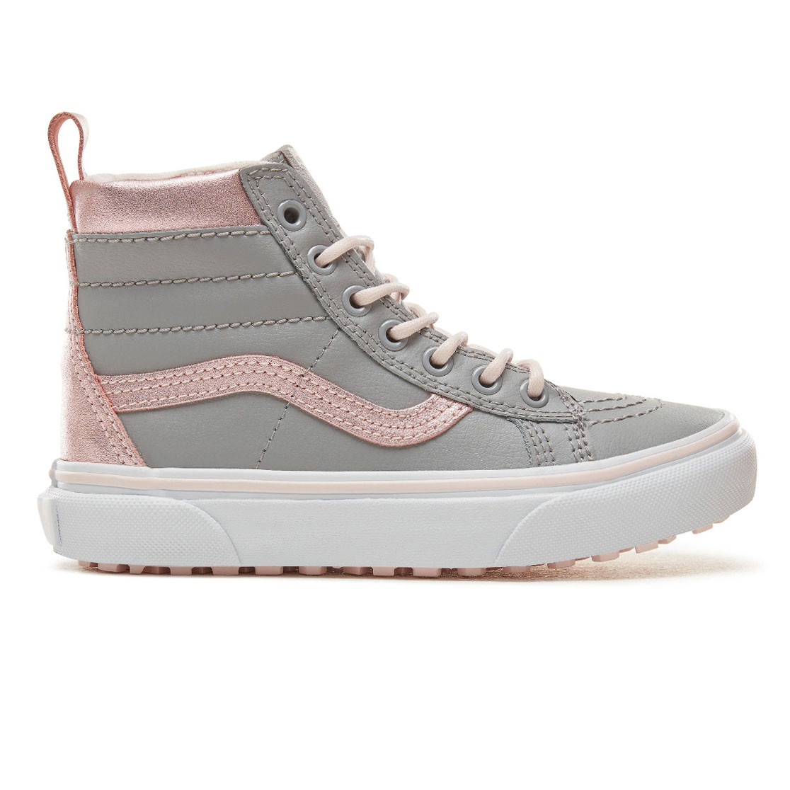 9be38b4485 Skate shoes Vans Sk8-Hi Mte metallic alloy heavenly pink