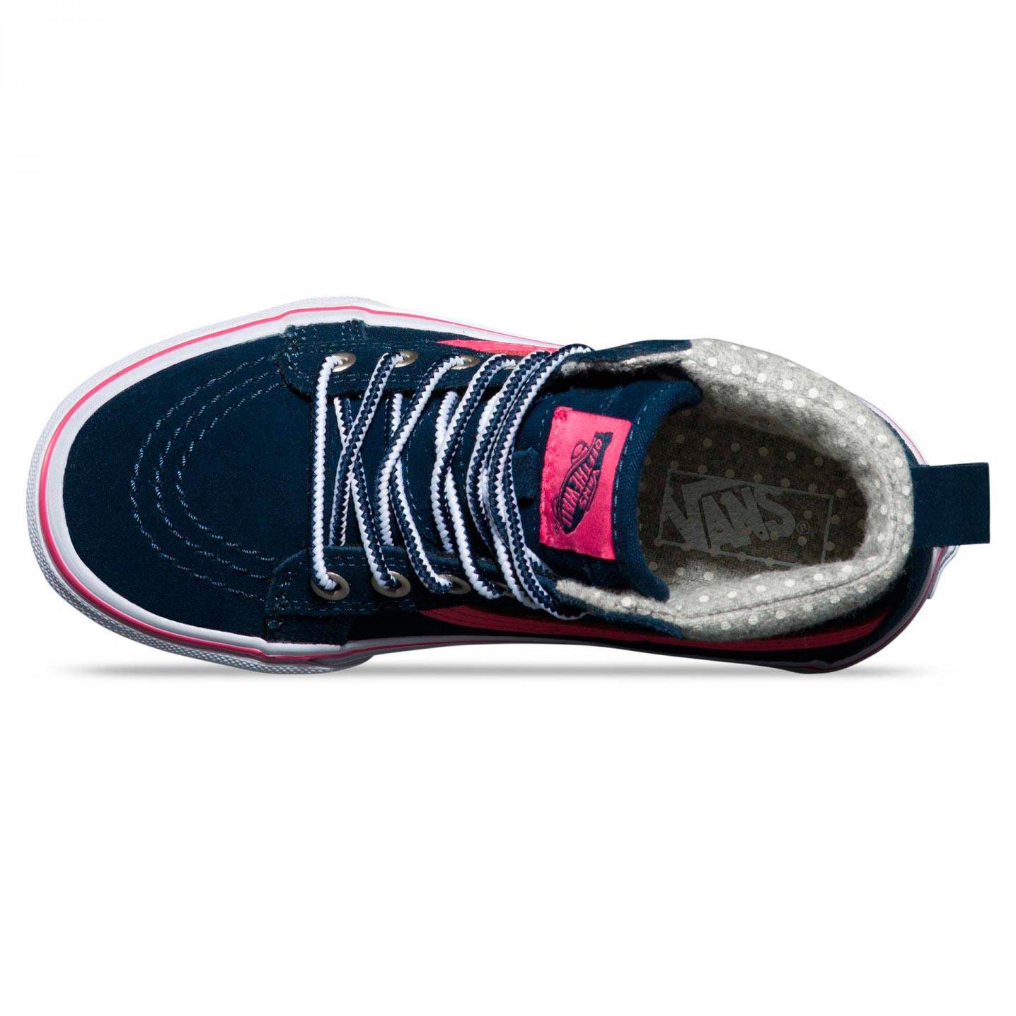 Zimné topánky Vans Sk8-Hi Mte navy pink  0bcd1e6a362