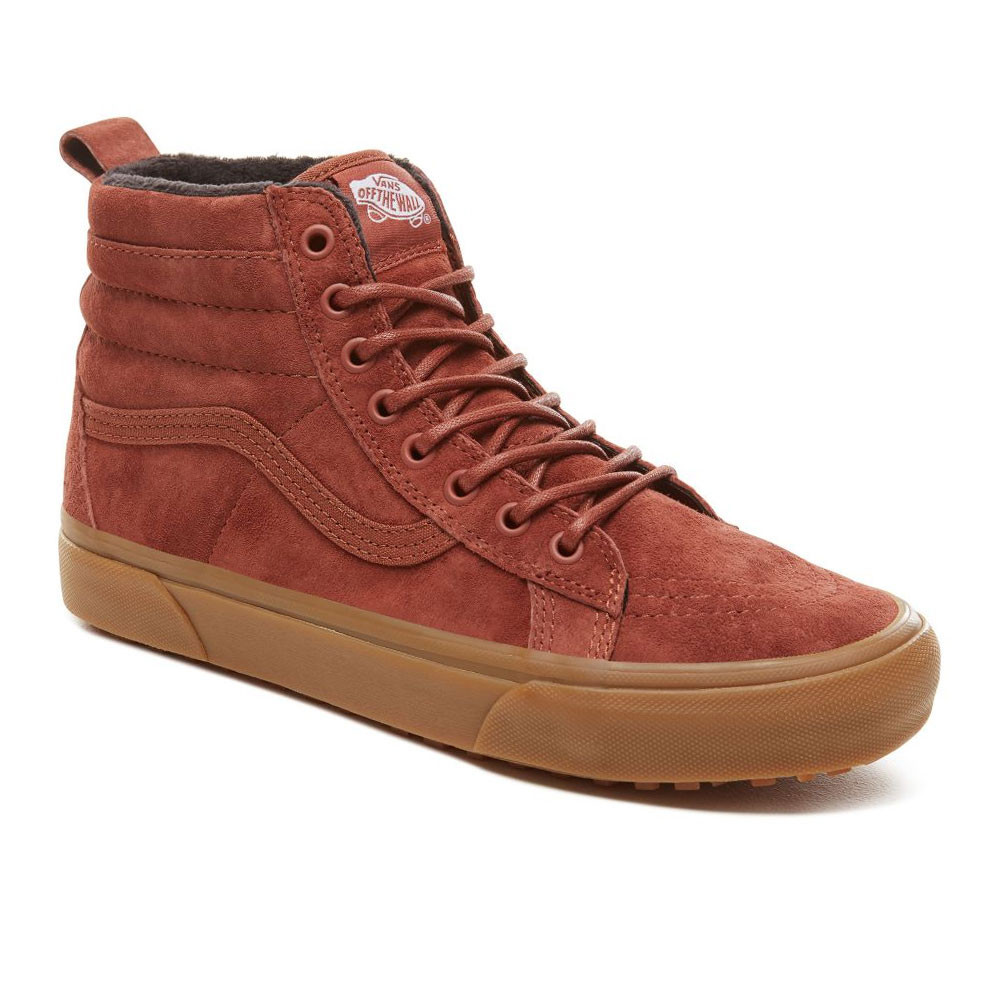 a64797b11cdbe Skate topánky Vans Sk8-Hi Mte sequoia/gum | Snowboard Zezula