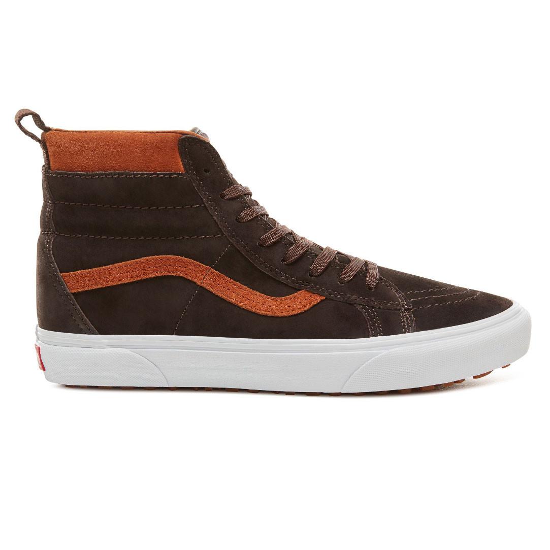 Skate topánky Vans Sk8-Hi Mte suede chocolate torte  63d751c83e8