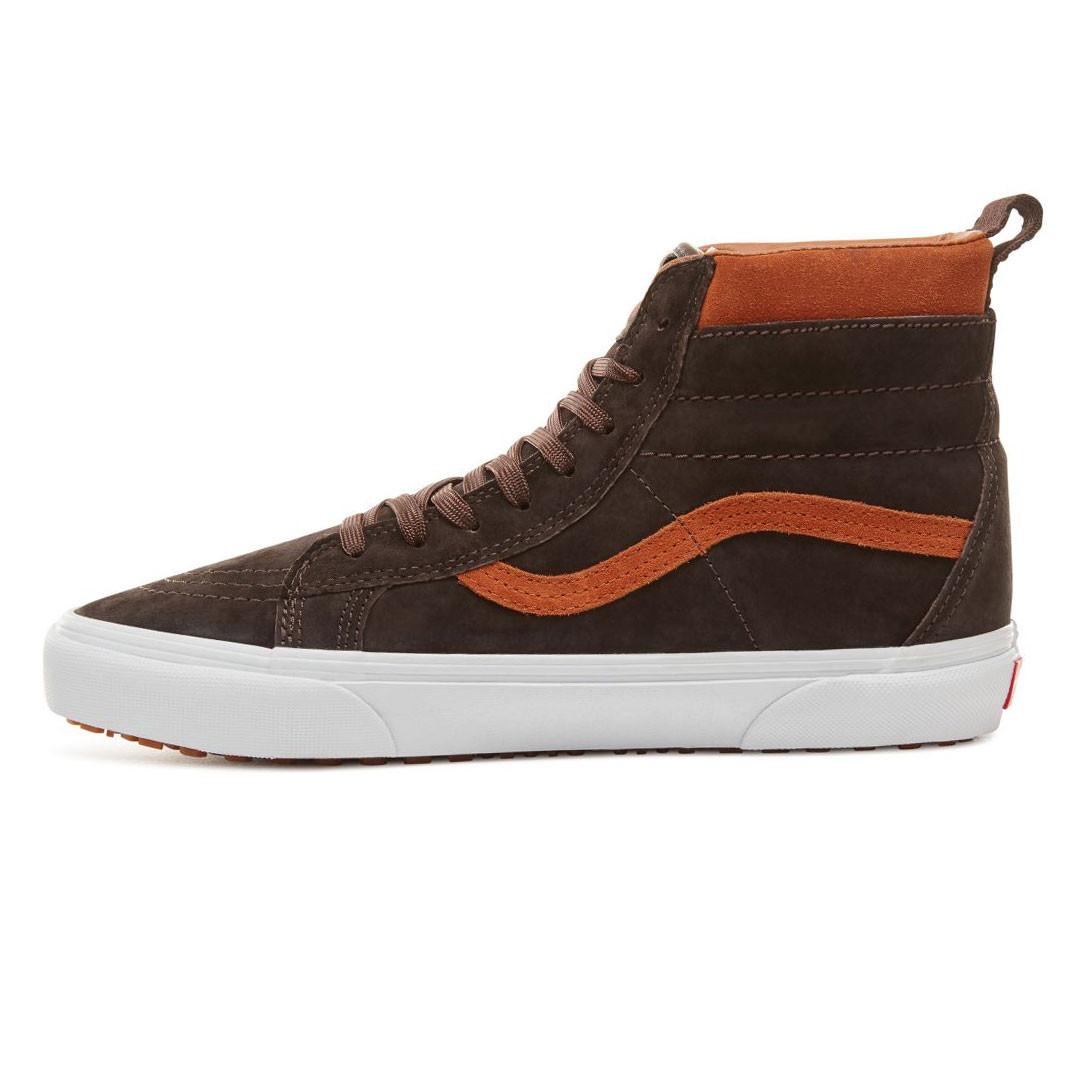 253df10667bcc Skate topánky Vans Sk8-Hi Mte suede/chocolate torte | Snowboard Zezula