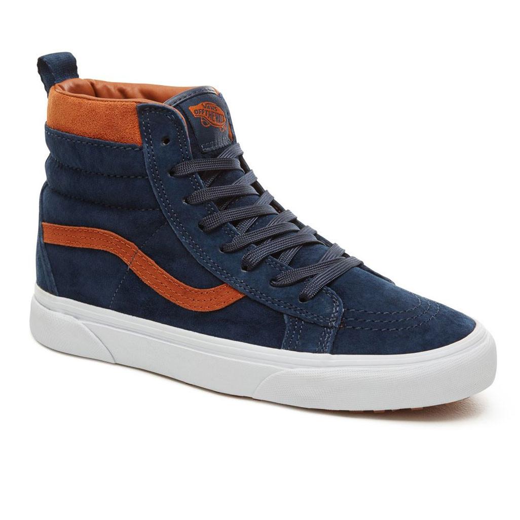 Skate shoes Vans Sk8-Hi Mte suede dress blues  d7248eb804a
