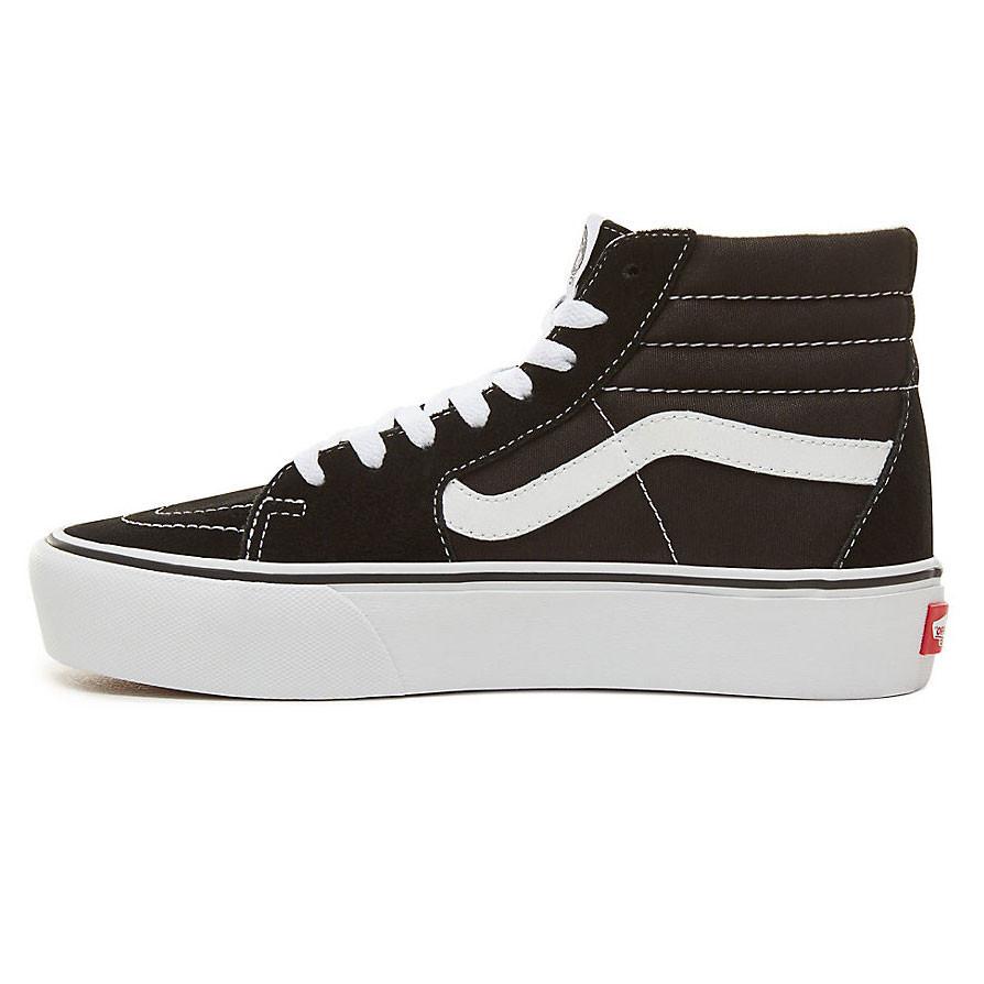 Sneakers Vans Sk8-Hi Platform 2 black true white  f041e6666b4