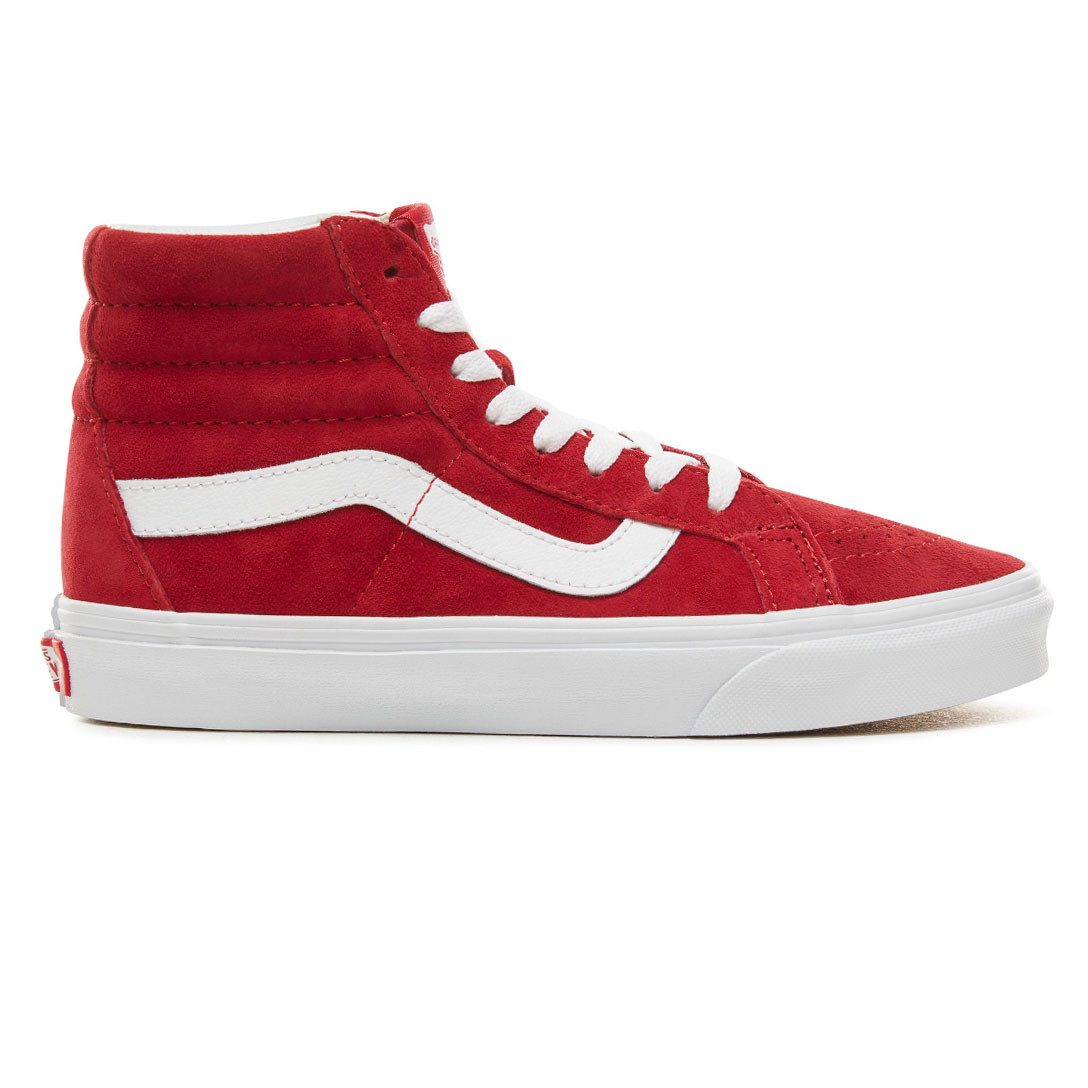e59f12f93448 Sneakers Vans Sk8-Hi Reissue pig suede scooter true white ...