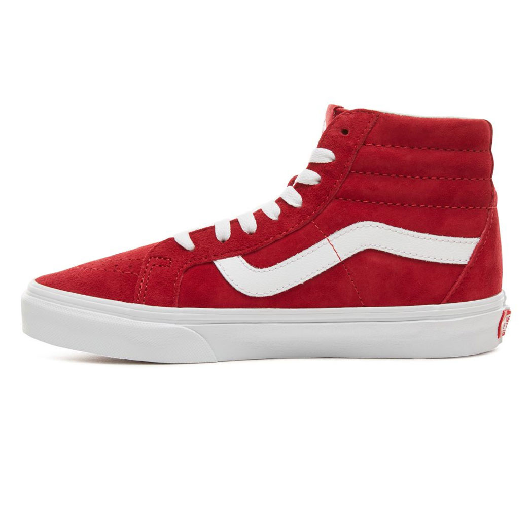 efd85a5a84 Sneakers Vans Sk8-Hi Reissue pig suede scooter true white ...