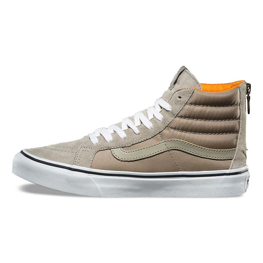 4f25d207ee Sneakers Vans Sk8-Hi Slim Zip boom boom silver sage true white ...