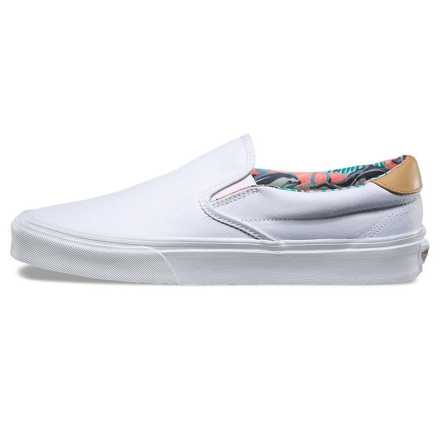 sneakers vans slip on 59 c l dolphins true white. Black Bedroom Furniture Sets. Home Design Ideas