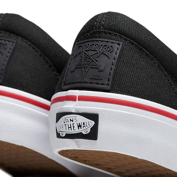e5b69fb907e7 Vans Slip-On Pro Thrasher black